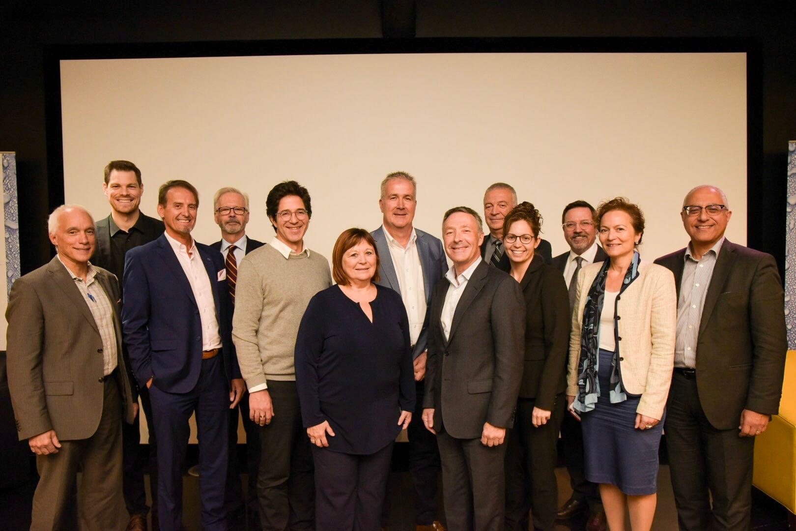 Plus de 250 décideurs du milieu de la construction réunis à Montréal pour accroître la collaboration dans l'industrie